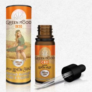 Green Mood Super Lemon Haze 300mg 3% CBD E-Liquid