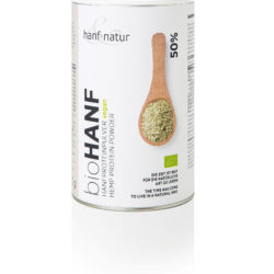 Proteinpulver 450g hanf&natur