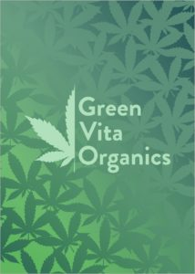 Logo Green Vita Organics CBD und Hanfprodukte