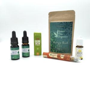Kategorie CBD Produkte Cbd Öle E-Liquids Aromablüten und Vapes