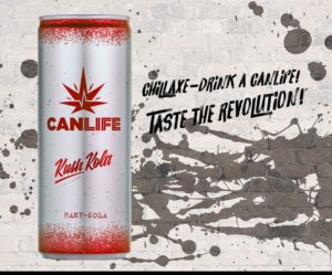 CanLife Kush Cola Energy Drink