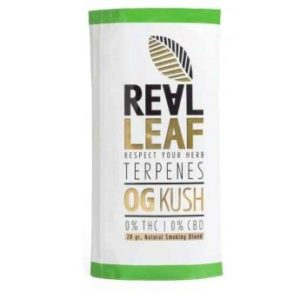 real leaf tabakersatz og kush