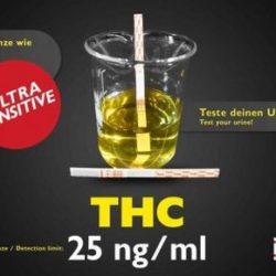 thc teststreifen zur Überprüfung des THC Gehalts im Urin