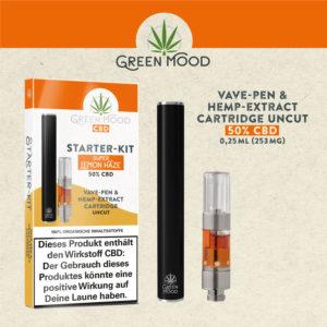 Green Mood Starterkit 50% CBD Super Lemon Haze